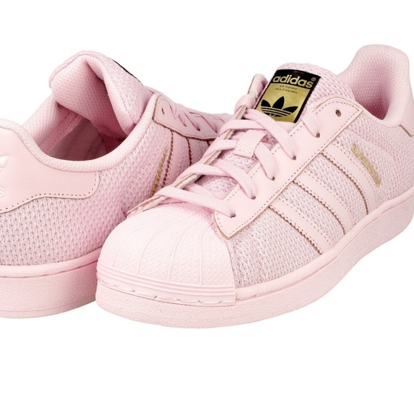 promo code 1e4e6 6488e Adidas Shoes - BNIB Youth Adidas Superstar J Pink sz 5Y, 7W